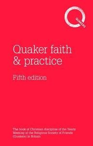 Picture of Quaker faith and practice 5th edition HB
