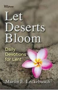 Picture of Let Deserts Bloom: daily devotions for Lent