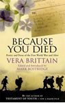 Picture of Because You Died: Poetry and Prose of th