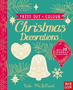 Picture of Press Out and Colour: Christmas Decorations
