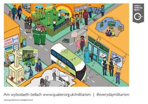 Picture of Everyday Militarism Poster (Welsh)