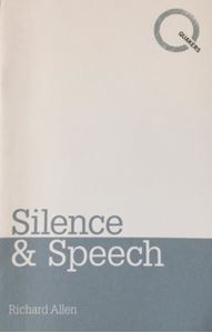 Picture of Silence and Speech