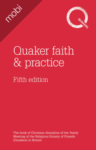 Picture of Quaker faith and practice 5th ed - mobi